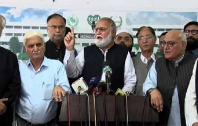 JUI - F Chief Fazalur Rehman Azadi March to take dangerous turn within 48 hours