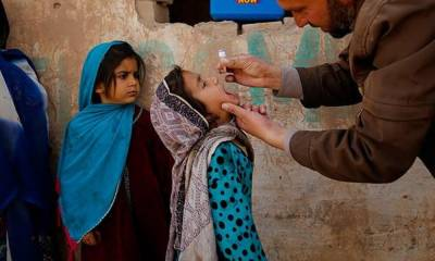Pakistan faces the big setback on the Polio front, reveals international media report