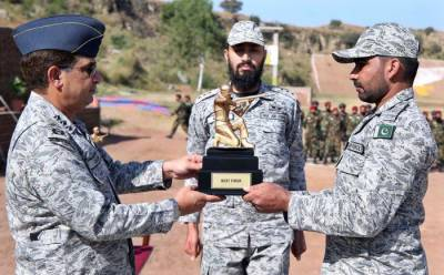 Advanced security warfare and combat tactics course held at PAF Base