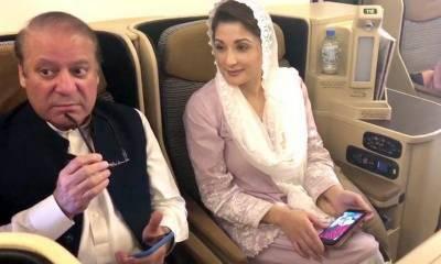Former PM Nawaz Sharif flight details for London revealed, it's not PIA flight