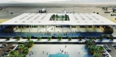 In a positive development, New Gwadar International Air Port construction kicksoff under CPEC