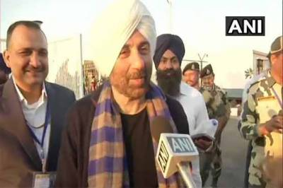 Indian MP and Actor Sunny Deol breaks silence over his Pakistan visit, it's hilarious remark