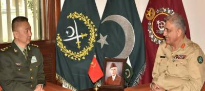 Chinese Military Commander held important meeting with Pakistan Army Chief at GHQ