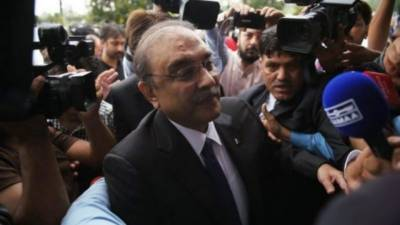 Former President Asif Zardari faces a setback from the Accountability court