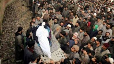 Indian troops martyr one more Kashmiri youth in worst act of state terrorism