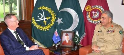 Australian High Commissioner called on COAS General Bajwa at GHQ