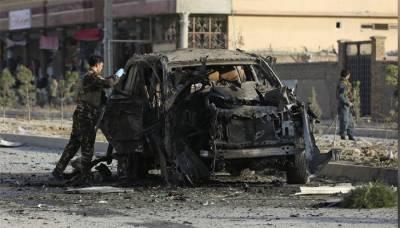 Deadly car bomb bomb blast near Kabul Interior Ministry plays havoc