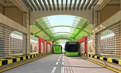 Federal government makes important announcement over Karachi Greenline Bus Service