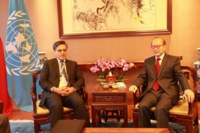 Chinese permanent representative at UN Office at Geneva held important meeting with Pakistani Ambassador
