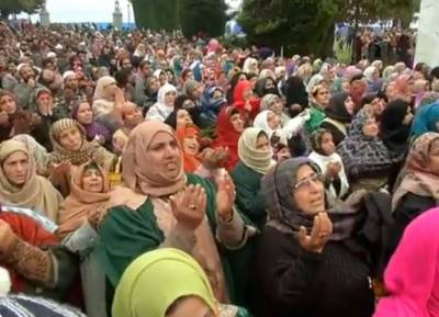 Forceful demonstrations held across Occupied Kashmir after 'Juma Prayers' against Indian Military siege