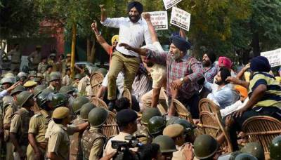 In big trouble, Sikhs Rise Against Indian government over controversial Ayodhya judgement targeting Sikhs besides Muslims