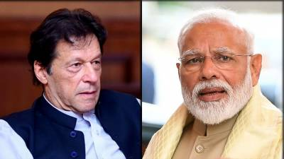 Pakistani PM Imran Khan hits out hard against Indian PM Narendra Modi