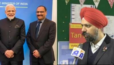 Indian extremist organisations BJP and RSS threaten Sikh Parliamentarian over Kashmir support