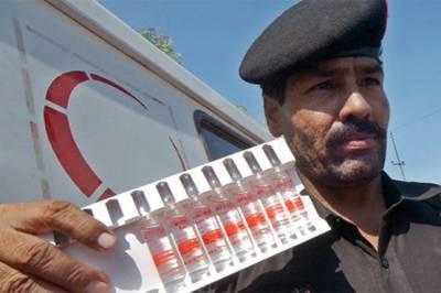 Pakistan becomes the first country in the World to launch new Typhoid Vaccine