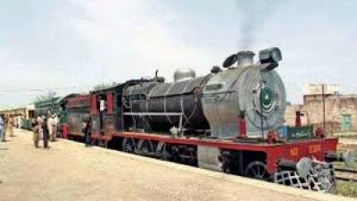 Pakistan Railways launches Steam engine Safari tourism train