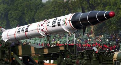 War hysteria: Indian Strategic Forces Command test launched nuclear capable missile