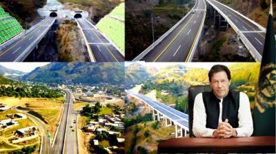 PM Imran Khan inaugurates the Hazara Motorway today