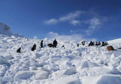 Four Indian Army Officers killed on the Siachen Glacier: Report