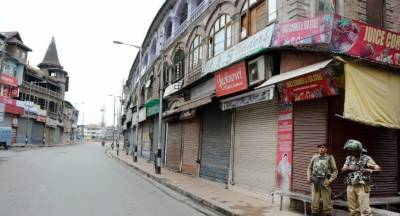 Indian government forcing Kashmiris to face economic death
