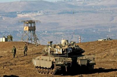 Israeli Air Defence System intercepts rockets fired from Syria