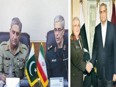 Pakistan Army Chief held important meetings with Iranian counterpart on border security and regional scenario