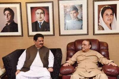 An Air Ambulance is also coming for former President Asif Ali Zardari