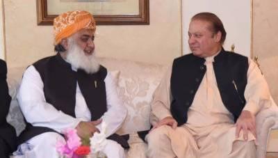 As Nawaz Sharif lands in London, JUI F Chief Fazalur Rehman takes a new turn