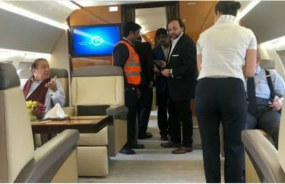 Extremely sick Nawaz Sharif onboard an emergency air ambulance lands in London