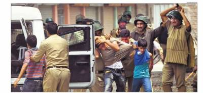 State terrorism: Indian troops martyred 894 children and shoved thousands into jails in Occupied Kashmir