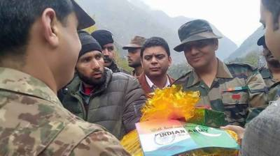 A rare goodwill gesture by Indian Army for Pakistan