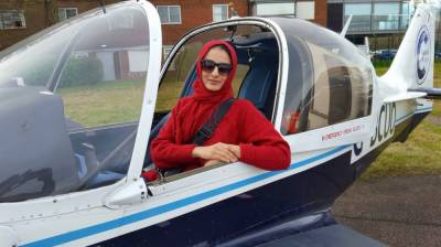 Female Pakistani aerospace engineer Dr Sarah Qureshi unveils an engineering marvel which would take aviation industry by storm