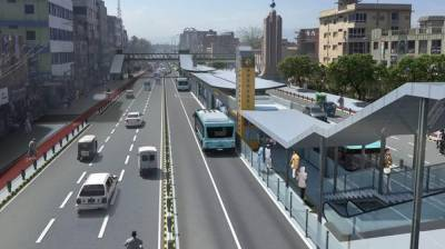 KP government iconic Peshawar BRT Project faces another setback