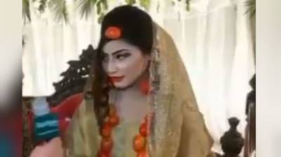 Video of Pakistani bride wearing 'Tomato Jewelry' on her wedding goes viral on social media