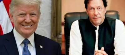 US President Donald Trump is thankful to Pakistan