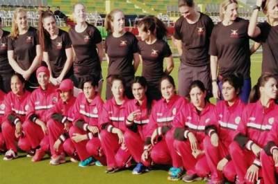 UK Army Women team defeat Pakistan Army team in Rawalpindi stadium