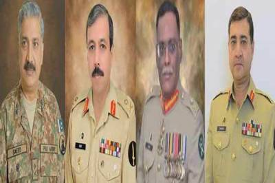 Highest level transfers and postings made in Pakistan Army
