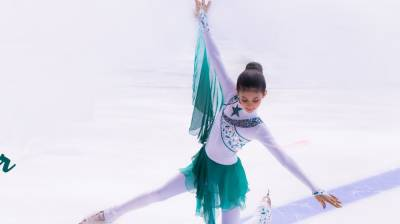 Pakistani girl wins figure skating championship in Austria