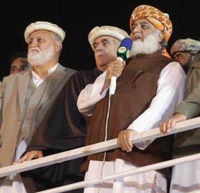 JUI F Chief Fazalur Rehman makes shocking revelations over deal for calling off the Islamabad sit-in