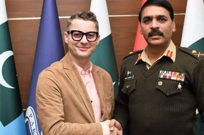 Pakistan Military DG ISPR takes a dig at the IAF Pilot WC Abhinandan along with Adrian Sina