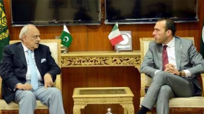 High level Italian delegation vow to enhance bilateral ties with Pakistan