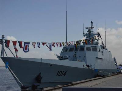 Pakistan Navy inducts fast track indigenous built missile warship in its arsenal