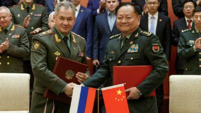 China and Russia to hold joint military drills with the leading Islamic country