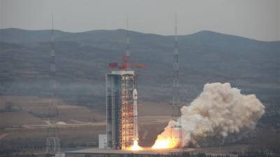 China launches new earth observation satellite into space