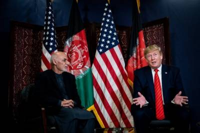 US President Donald Trump made a secret visit to Kabul, Afghanistan