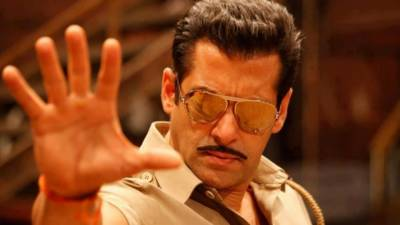Indian actor Salman Khan lands in trouble for hurting Hindu religious sentiments in his new movie Dabaang 3
