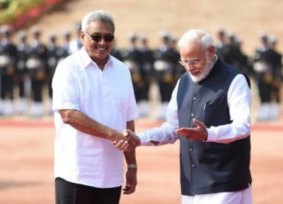 Sri Lankan new President warns India and West over China