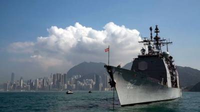 China has suspended US warships visits in retaliatory measures