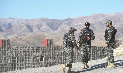 Pakistan Army kills two terrorists at the Afghanistan border who attacked the military checkpost
