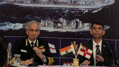 Indian Navy Chief frustrated over Pakistan and Chinese Navies in Indian Ocean