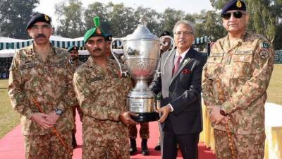 39th Pakistan Army Rifle Association Central Meet at Army marksmanship firing ranges near Jhelum